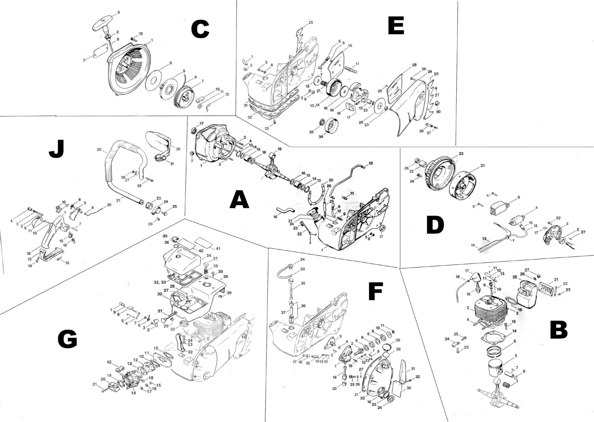 Stihl 029 Super Parts Diagram