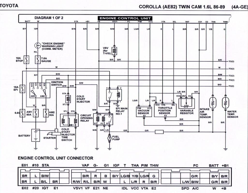 Toyota A Wiring Diagram