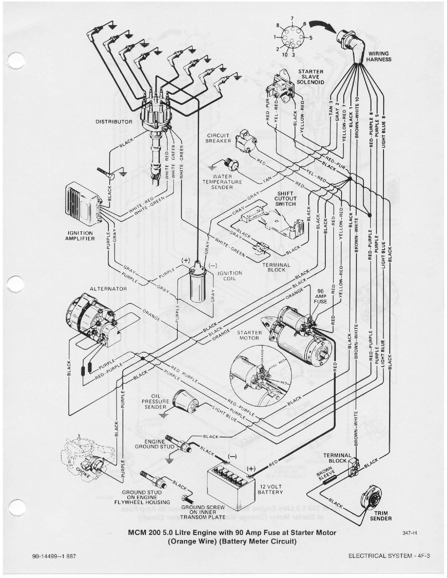 Wiring Diagram 5 7 Mercruiser