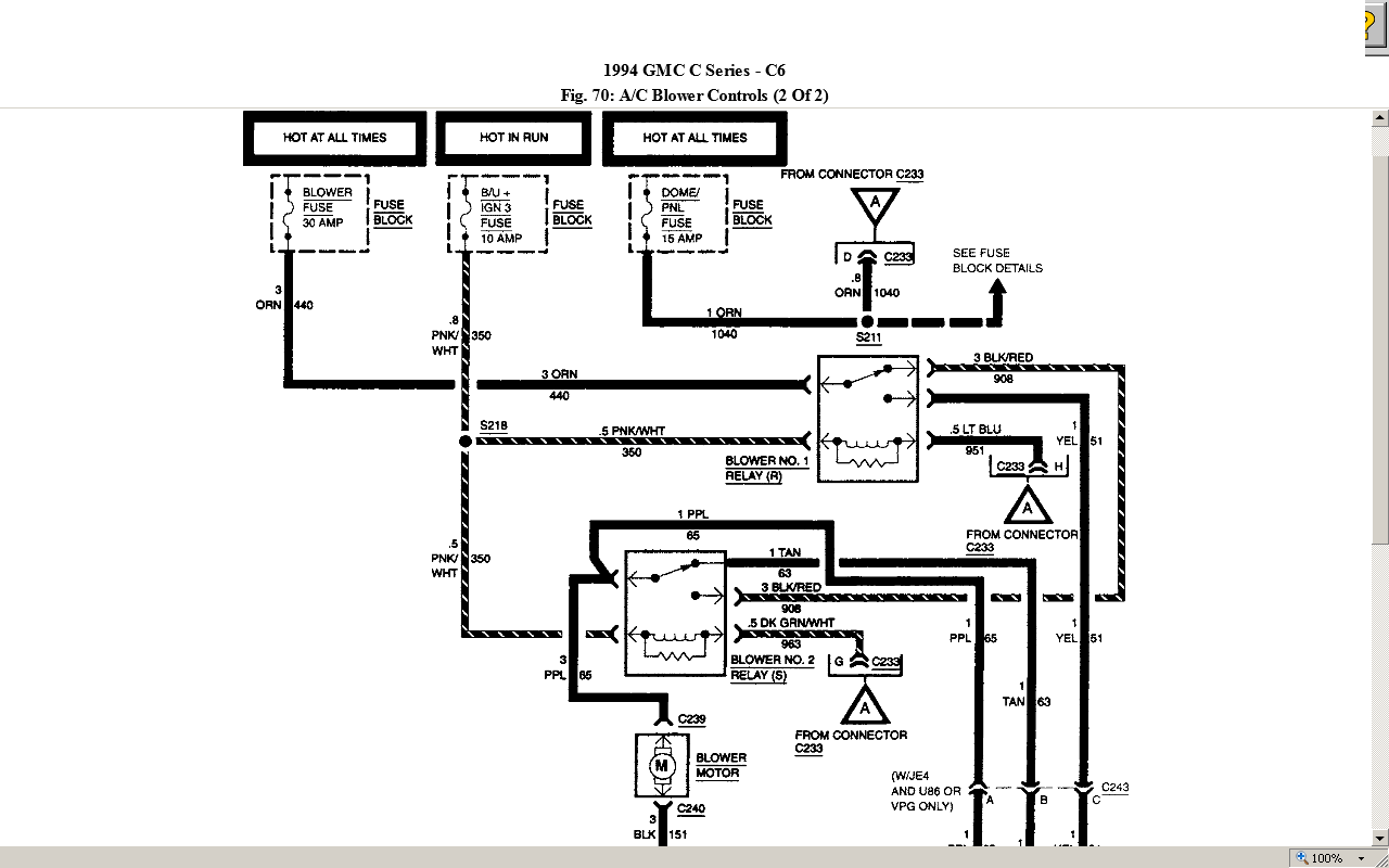 Wiring Diagram For Gmc G