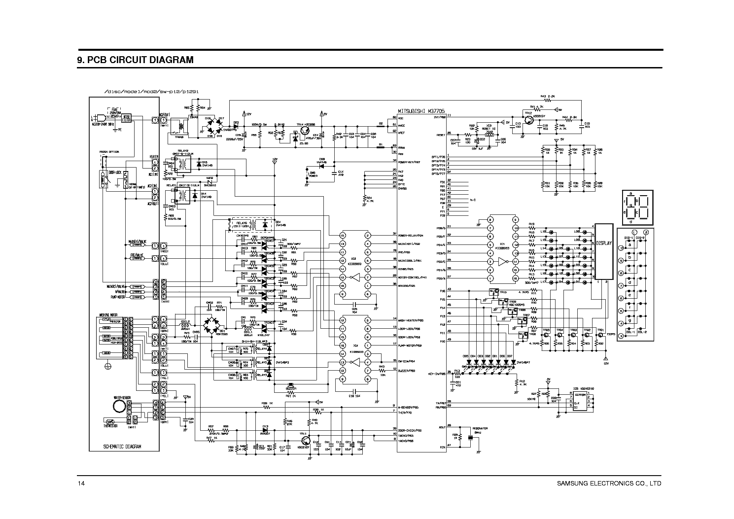 Wiring Diagram For A Ge Ro Airconditioner Model Asw18dls1