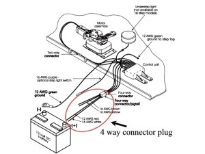 Wiring Diagram For Kwikee Step Module 164889