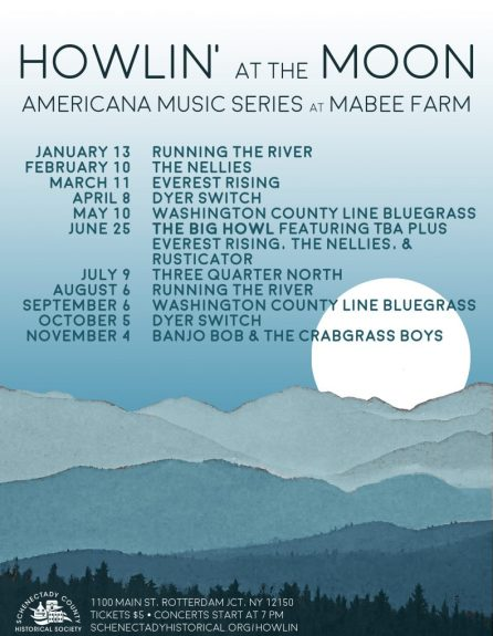 Howlin' at the Moon | Americana Music Series at Mabee Farm @ Mabee Farm Historic Site | Rotterdam Junction | New York | United States
