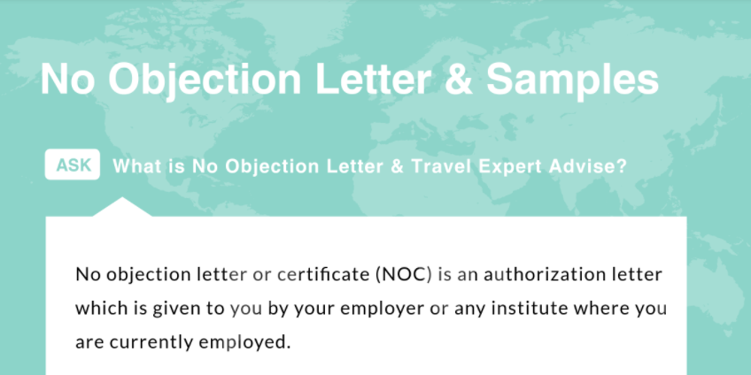 no objection letter format for employer