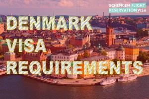 Denmark Visa Requirements Guide