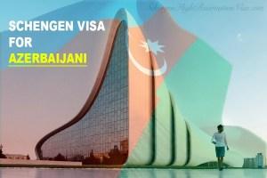 Schengen visa for Azerbaijani citizens