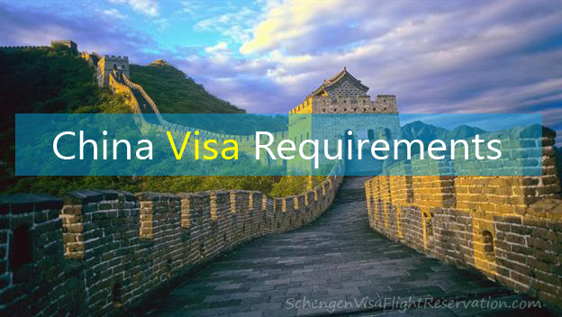 Visa Requirements for China - Get your Chinese visa in no time.