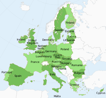 Guide on the Schengen Countries Area - States of the European Union
