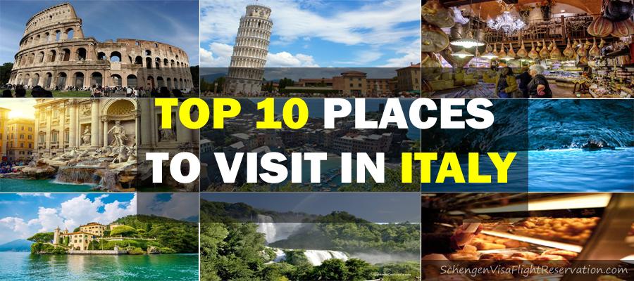Top 10 places to visit in italy schengen visa schengen for Best italian cities to visit