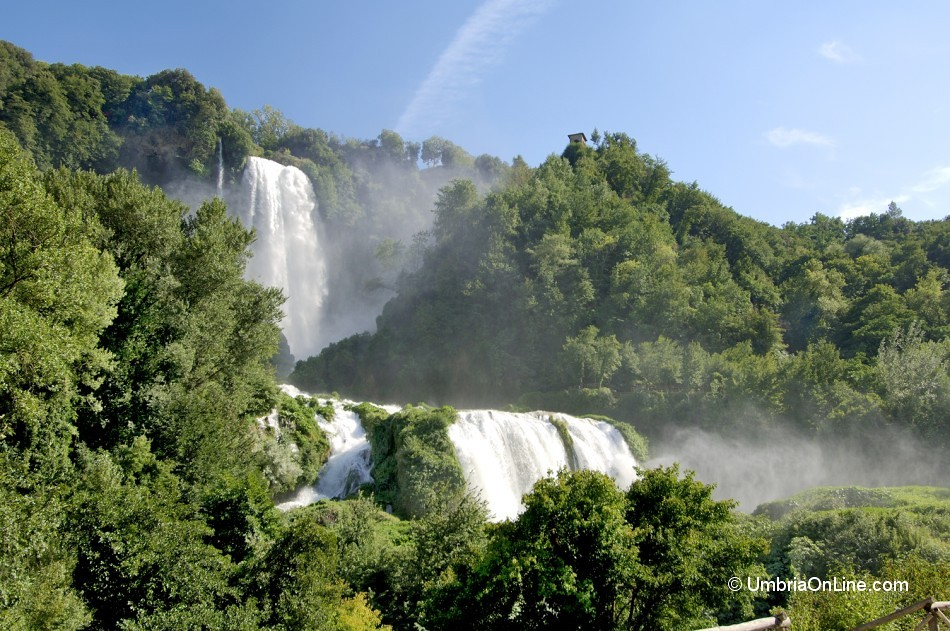 Top 10 Places to Visit in Italy Cascata delle Marmore in Terni