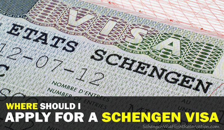 Where Should I Apply for a Schengen Visa