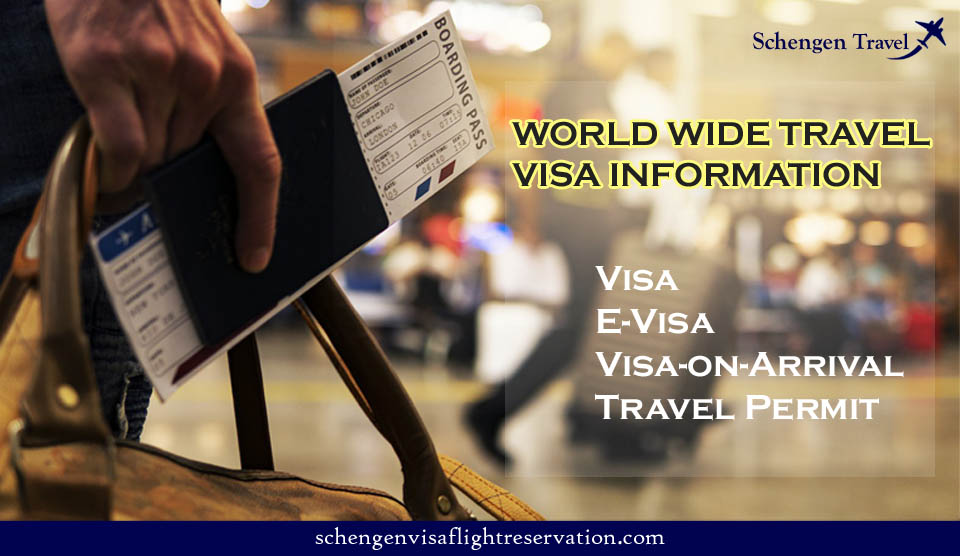 WORLD WIDE TRAVEL VISA INFORMATION: HOW TO FIND IF YOU NEED A VISA TO TRAVEL ANY WORLD WIDE COUNTRIES.