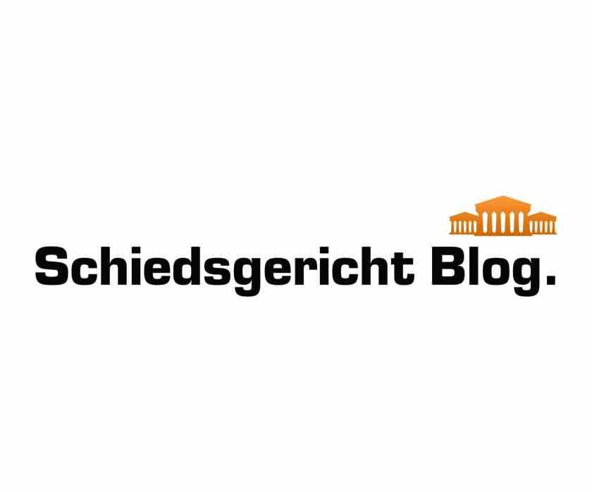Schiedsgericht Blog