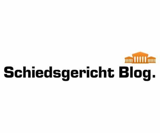 Schiedsgericht Blog.