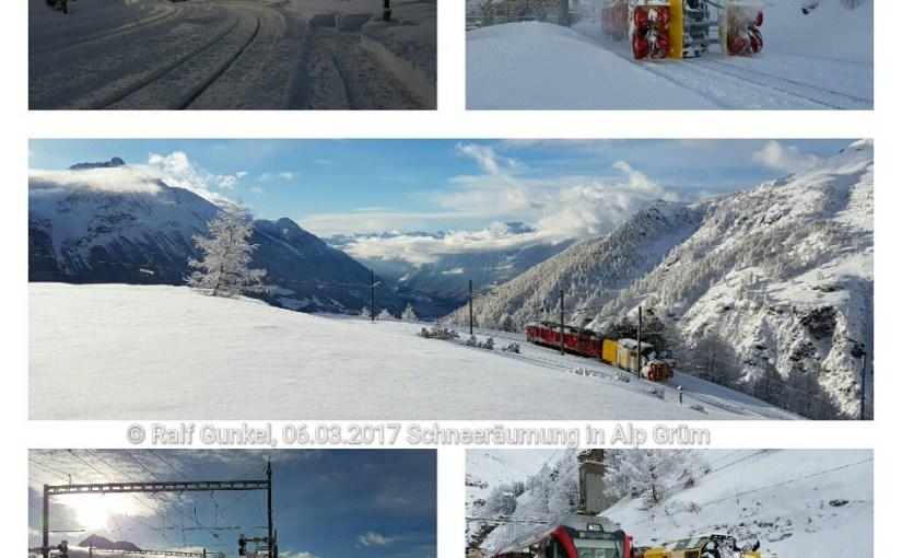 Das Schneemonster und ein Signallabor