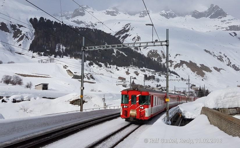 Winterwandern im Urserental und Obergoms