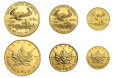how to buy fractional gold eagle and gold maple coins