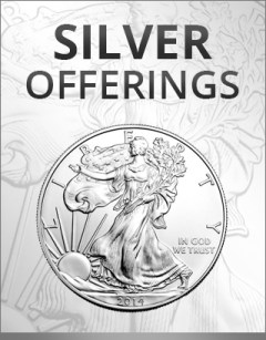 buy silver online - silver coins and bars