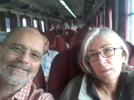 Mit dem Zug nach Kairo