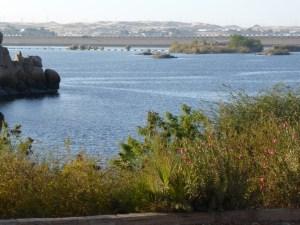 Alte Staumauer des Nassersees