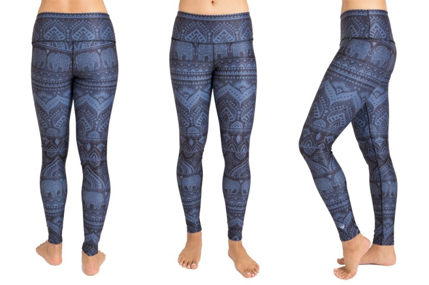 These Cute Leggings Have A Subtle Elephant Pattern But Are Full On Inner Fire Is 100 Opaque Compressive And Comfortable Use Code SYNEWS15 For 15