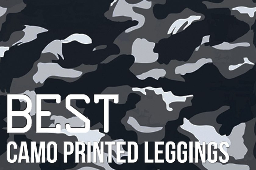 best camo camouflage printed leggings