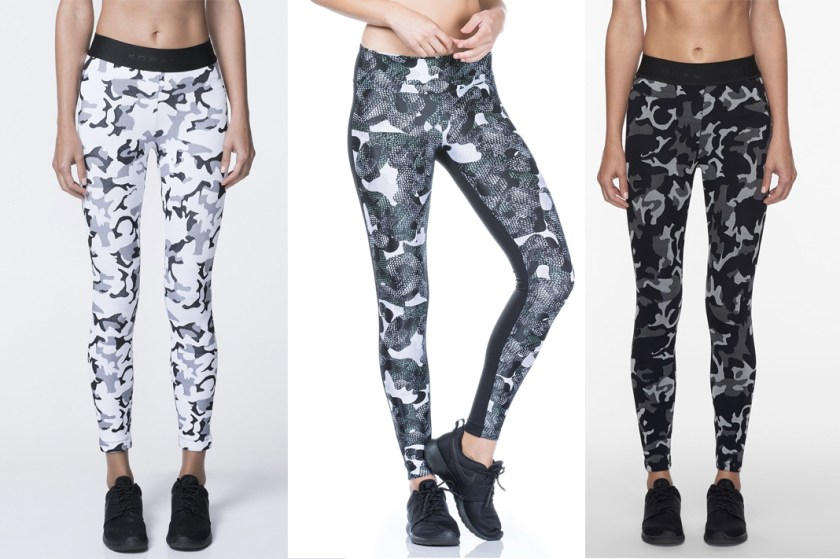 koral camo printed leggings