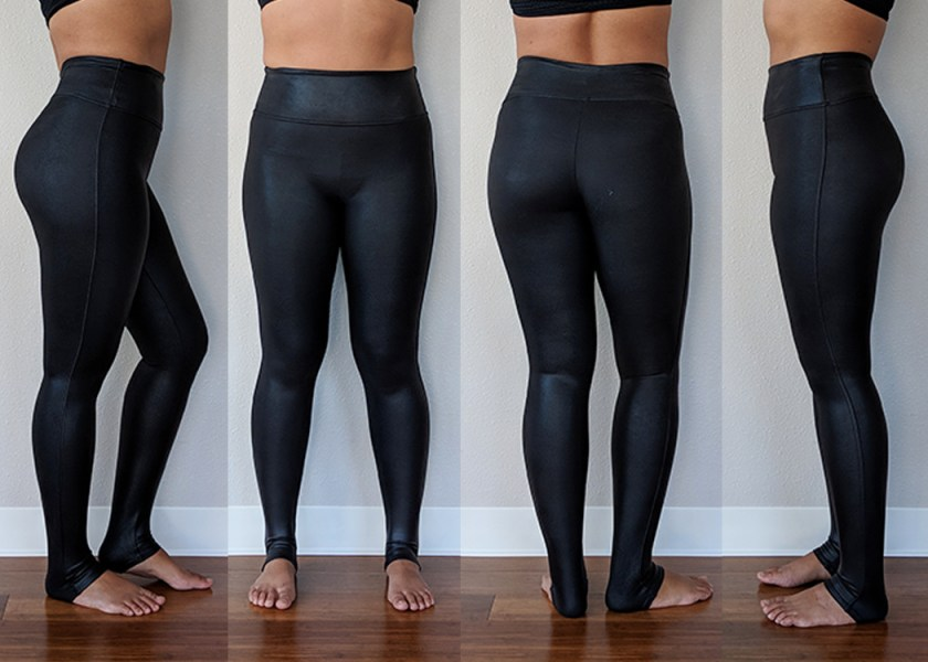 Spanx Review Faux Leather Leggings Schimiggy Reviews