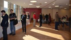 Die ersten Teilnehmer treffen ein ... Bild: peridomus.de