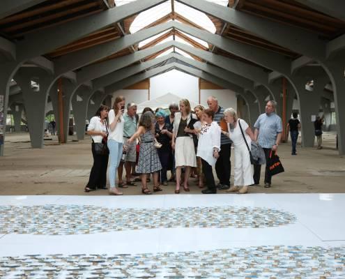 SCHALCHTEN | DISPLACED 2015 | Führung zu den Exponaten mit Dr. Sabine Meister | Image © Alvaro Torres Vallejo