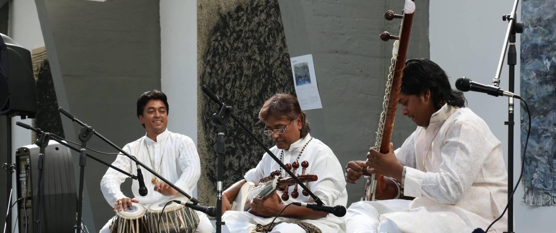 SCHALCHTEN | DISPLACED 2015 | Maharaj Trio Konzert | Image © Alvaro Torres Vallejo