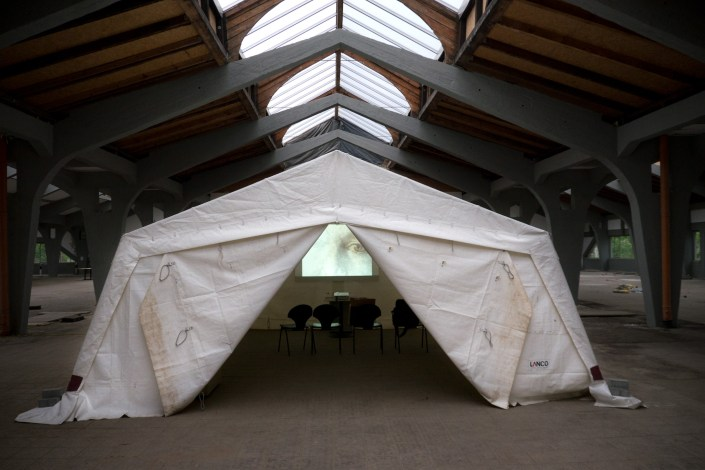 SCHLACHTEN | DISPLACED 2015 | Video-Tent |Third Age | Chris Avis | Image © Dan Farberoff
