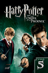 """Plakat for filmen """"Harry Potter and the Order of the Phoenix"""""""