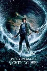 "Plakat for filmen ""Percy Jackson & the Olympians: The Lightning Thief"""