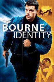 """Plakat for filmen """"The Bourne Identity"""""""
