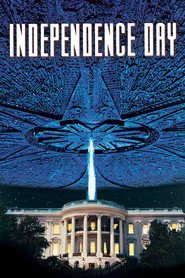 """Plakat for filmen """"Independence Day"""""""