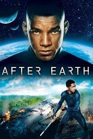 "Plakat for filmen ""After Earth"""
