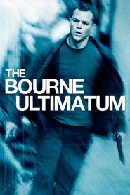 "Plakat for filmen ""The Bourne Ultimatum"""