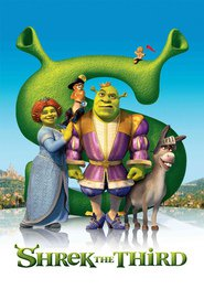 """Plakat for filmen """"Shrek the Third"""""""