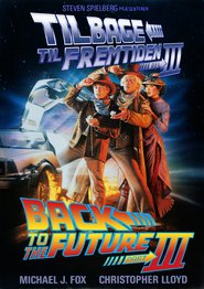 "Plakat for filmen ""Back to the Future Part III"""
