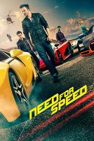 """Plakat for filmen """"Need for Speed"""""""