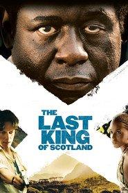 """Plakat for filmen """"The Last King of Scotland"""""""