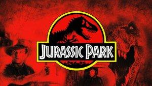 """Billede fra filmen """"Jurassic Park"""""""