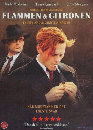 """Poster for the movie """"Flammen og Citronen"""""""
