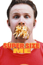 "Plakat for filmen ""Super Size Me"""