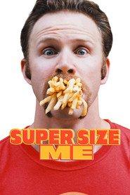 "Plakat for filmen ""Super Size Me"""