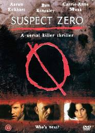 "Plakat for filmen ""Suspect Zero"""