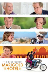 "Plakat for filmen ""The Best Exotic Marigold Hotel"""