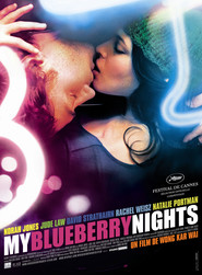 "Plakat for filmen ""My Blueberry Nights"""