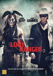 "Plakat for filmen ""The Lone Ranger"""